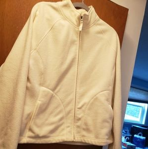 Merona fleece zip up jacket